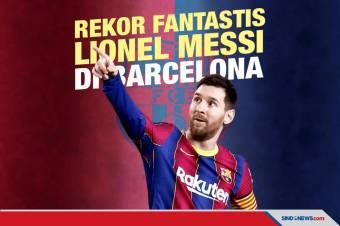 Rekor Lionel Messi Mustahil Dilampaui Pemain Lain Barcelona