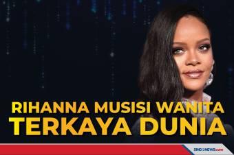 Rihanna Musisi Wanita Terkaya Dunia, Total Capai Rp24,3 Triliun