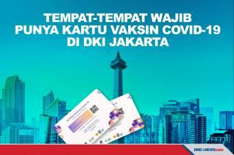 Tempat-tempat yang Mewajibkan Bawa Kartu Vaksinasi di Jakarta