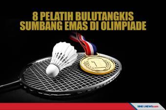 8 Pelatih Bulutangkis yang Sumbang Emas di Olimpiade