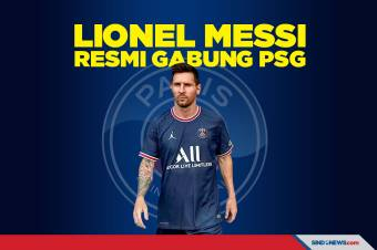 Lionel Messi Resmi Gabung Paris Saint Germain (PSG)