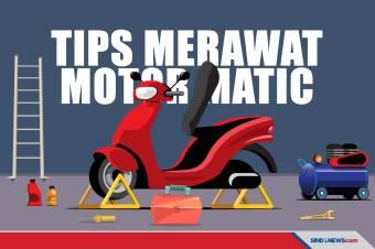 Tips-tips Sederhana Merawat dan Menjaga Motor Matic