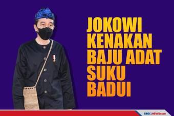 Sidang Tahunan MPR, Presiden Jokowi Pakai Baju Adat Suku Baduy