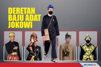Deretan Baju Adat Jokowi di Sidang Tahunan MPR dan HUT RI