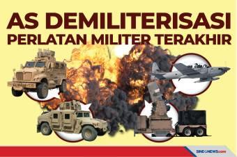 Cegah Jatuh ke Taliban lagi, AS Demiliterisasi Peralatan Militer