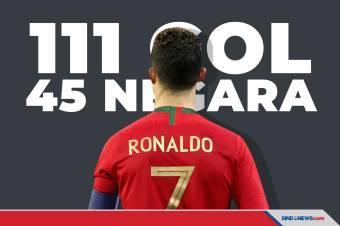 Lewati Ali Daei, Ini Daftar Negara yang Dijebol Cristiano Ronaldo