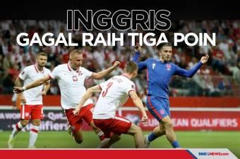 Kualifikasi Piala Dunia 2022: Inggris Gagal Amankan Tiga Poin
