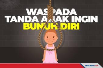 11 Tanda Anak Berpotensi Lakukan Bunuh Diri, Waspadai!