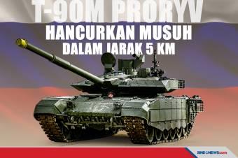 Tank T-90M Proryv, Mampu Hancurkan Musuh dalam Jarak 5 Km