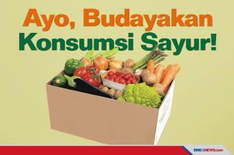 Konsumsi Sayur dan Buah Masyarakat Indonesia Masih Rendah