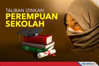 Taliban Izinkan Perempuan Sekolah hingga Perguruan Tinggi