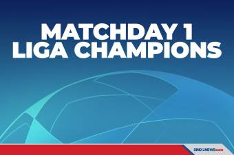 Hasil Lengkap Matchday 1 dan Klasemen Grup Liga Champions