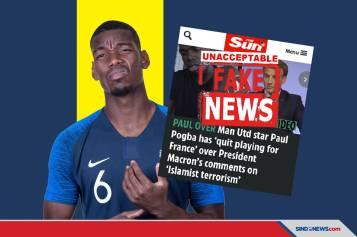 Murka Pogba Jawab Rumor Dia Mundur dari Timnas Prancis