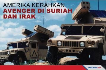 Terancam, AS Kerahkan AN/TWQ-1 Avenger di Suriah dan Irak