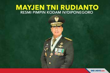 Mayjen TNI Rudianto Resmi Pimpin Kodam IV/Diponegoro