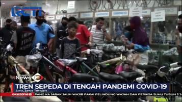 Toko Sepeda di Solo Dibanjiri Pembeli Setelah Menjadi Tren Baru di Tengah Pandemi