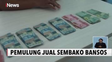 Pemulung Bawa Uang Rp7 Juta Hasil Jual Bansos Covid-19