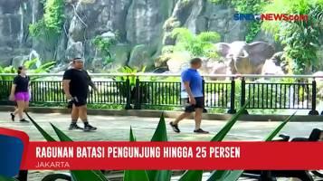 Ragunan dan TMII Kembali Dibuka Pasca PSBB Transisi Jakarta