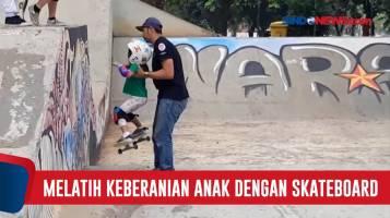 Skateboard Dapat Melatih Keberanian Sejak Usia Dini
