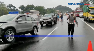 Rekaman Video Mobil Eks Trio Macan Usai Kecelakaan Fatal di Tol Semarang