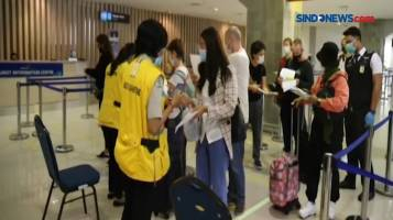 Ratusan Penumpang Pesawat di Bandara I Gusti Ngurah Rai Bali Positif Covid-19