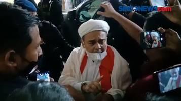 Saat Dipindah ke Rutan Bareskrim, Habib Rizieq Teriak Setop Kegaduhan