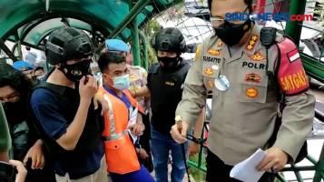 Polresta Bogor Bekuk Pencopet Spesialis JPO Stasiun Bogor