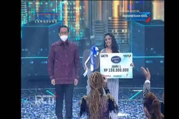 Selamat! Rimar Callista Juara Indonesian Idol Special Season