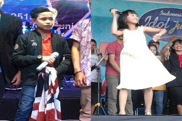 Jelang Grand Final Indonesian Idol Junior, Navis dan Sharon...