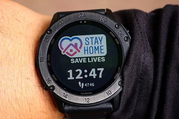 Garmin Teliti Potensi Smartwatch Deteksi Dini COVID-19