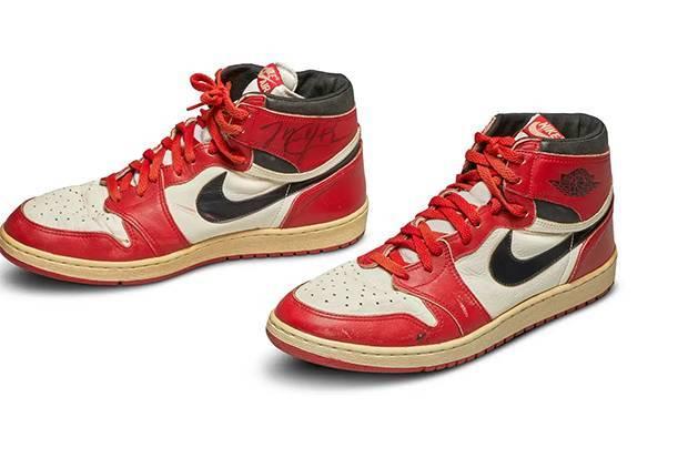 Sneakers Michael Jordan Cetak Rekor Lelang Tertinggi
