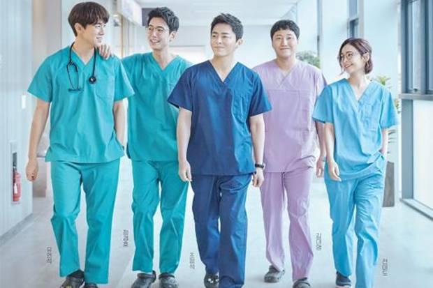 Drakor Serbu Tayangan TV, Hospital Playlist Raih Rating Tertinggi
