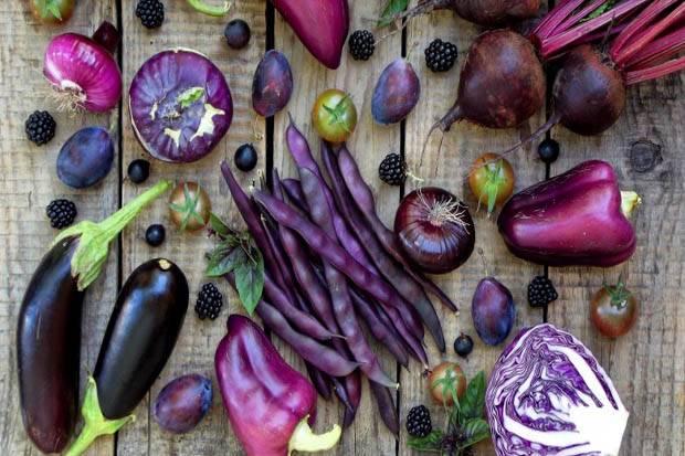 4 Manfaat Kesehatan Buah dan Sayuran Berwarna Ungu