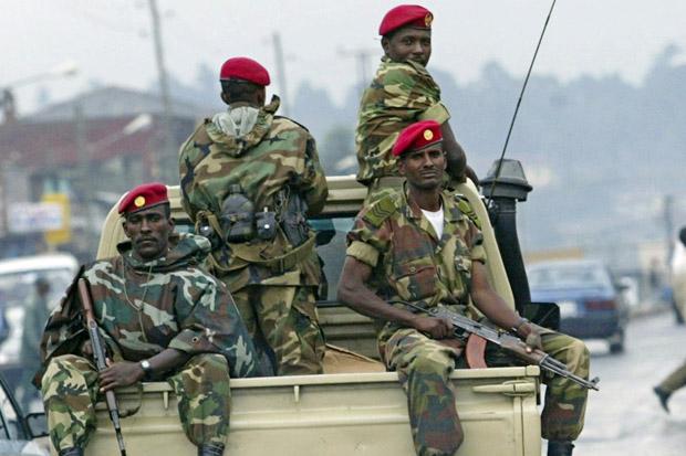 Pasukan Keamanan Ethiopia Eksekusi 39 Pendukung Oposisi