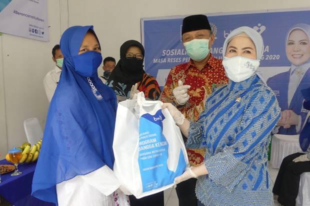 Reses saat Pendemi Covid-19, Intan Fauzi Terapkan Protokol Kesehatan