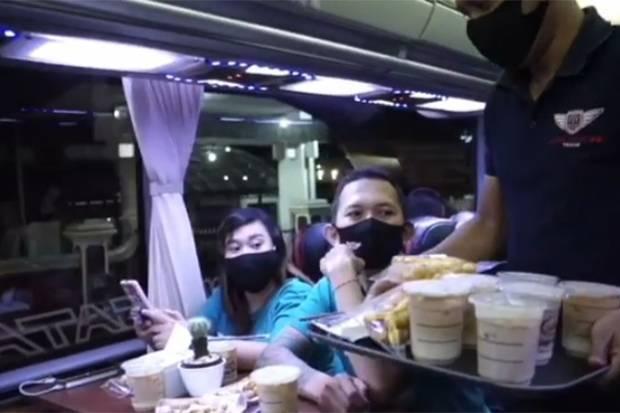 Ngopi dalam Bus Avante H8 Kembali Gairahkan Pariwisata Malang