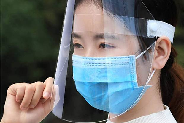Pakai Face Shield Tanpa Masker Tak Berikan Perlindungan Maksimal