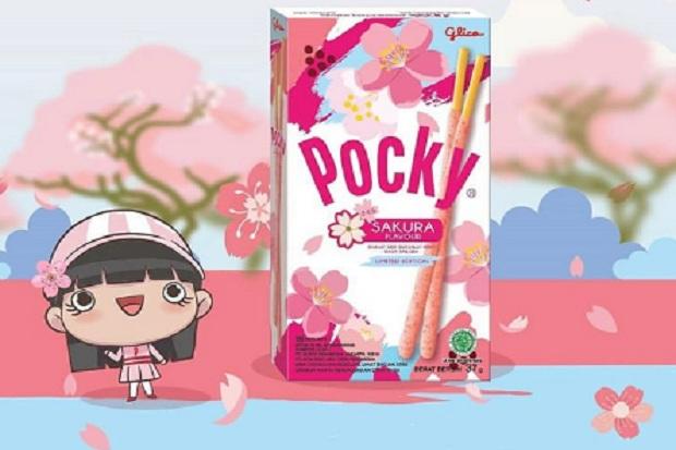 Unik, Pocky Keluarkan Varian Baru Rasa Bunga Sakura