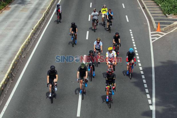 Pengunjung Positif Covid-19, CFD Khusus Pesepeda di Jalan RA Fadilah Ditiadakan