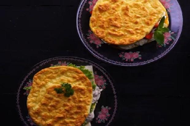 Kreasi Cloud Bread yang Lagi Viral, Ditambah Stroberi atau Mayo Sama Enaknya