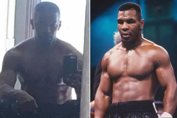 Transformasi Brutal Tubuh Jamie Foxx Jadi Segempal Mike Tyson