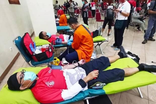Stok Darah PMI Menurun, Relawan Siaga Ajak Warga Donor Darah