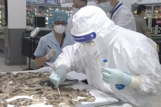 China Temukan Virus Corona Baru pada Makanan Laut Beku