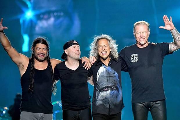 Konser Metallica Bakal Disiarkan di Bioskop Drive-In