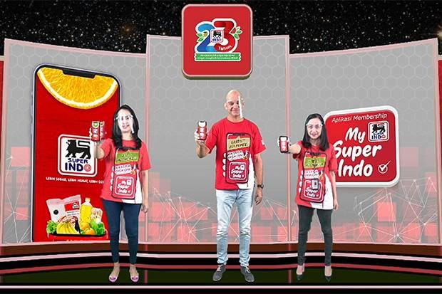 "Inovasi Baru, Super Indo Rilis Aplikasi Membership Digital ""My Super Indo"""