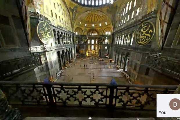 Mengetahui Sejarah Hagia Sophia Melalui Tur Virtual