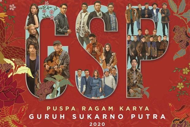 GSP Apresiasi Dirilisnya Album Puspa Ragam Karya Guruh Sukarno Putra