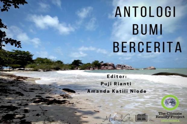 MaknaKata Luncurkan Buku Digital Antologi Bumi Bercerita