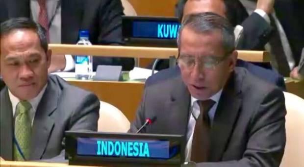 Presiden DK PBB Indonesia Hentikan Langkah Sanksi AS pada Iran