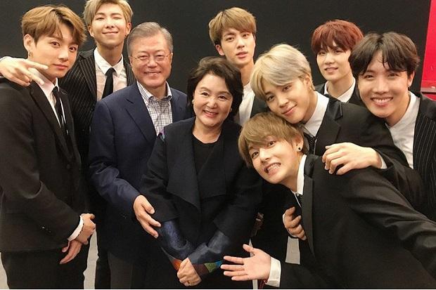 BTS Puncaki Billboard Hot 100, Presiden Korsel Ucapkan Selamat
